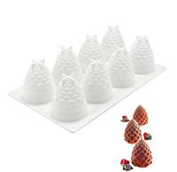 Силиконовая форма для муссовых десертов Foresta (Шишки)
