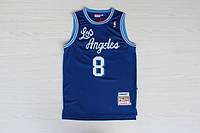 Мужская баскетбольная майка Los Angeles Lakers Retro (Kobe Bryant) Blue, фото 1