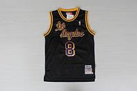 Мужская баскетбольная майка Los Angeles Lakers Retro (Kobe Bryant) Black, фото 1
