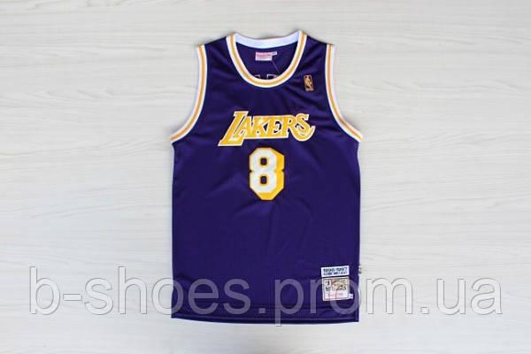 Мужская баскетбольная майка Los Angeles Lakers Retro (Kobe Bryant) Purple