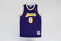 Мужская баскетбольная майка Los Angeles Lakers Retro (Kobe Bryant) Purple, фото 1