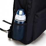 Рюкзак Fortnite с люминесцентной надписью чёрный Фортнайт, фото 6