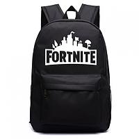 Рюкзак Fortnite с люминесцентной надписью чёрный Фортнайт