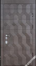 Двері вхідні STRAJ Антрацит 3D