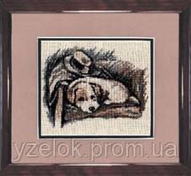 Набор для вышивки крестом «Щенок»