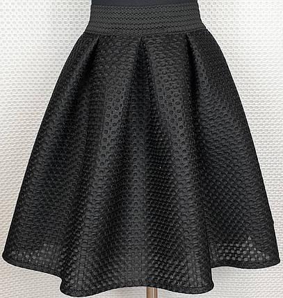 Подростковая  юбка для девочки р 152-164 черный, фото 2