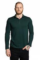 Мужские футболки-поло с длинным рукавом