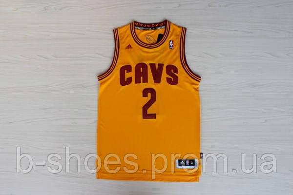 Мужская баскетбольная майка Cleveland Cavaliers (Kyrie Irving) Yellow