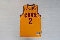 Мужская баскетбольная майка Cleveland Cavaliers (Kyrie Irving) Yellow, фото 1