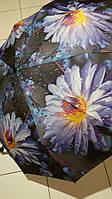 Зонт женский SL на 10 спиц Синий цветок
