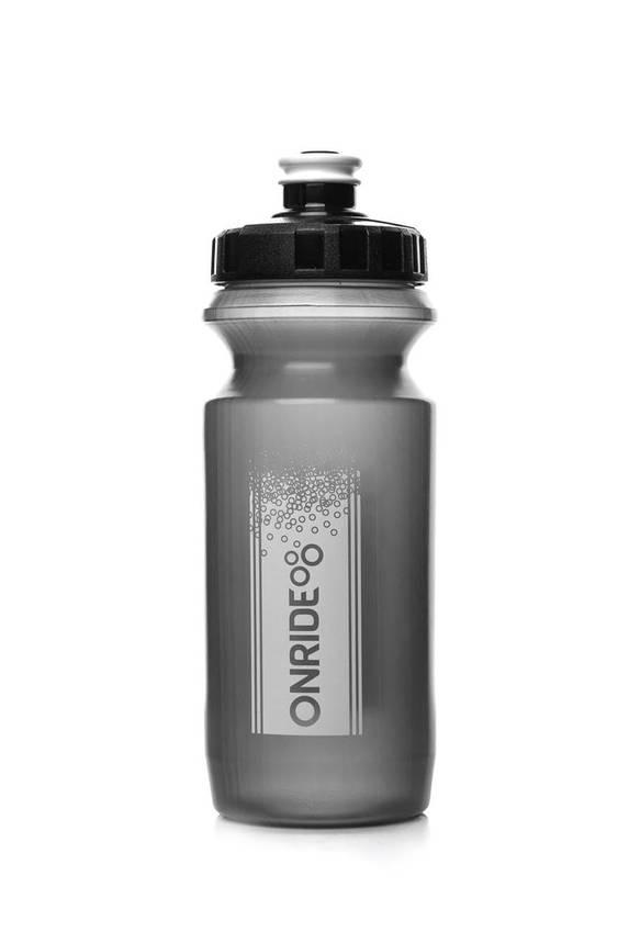 Фляга велосипедна ONRIDE Sonora 600 ml Transp Black, фото 2