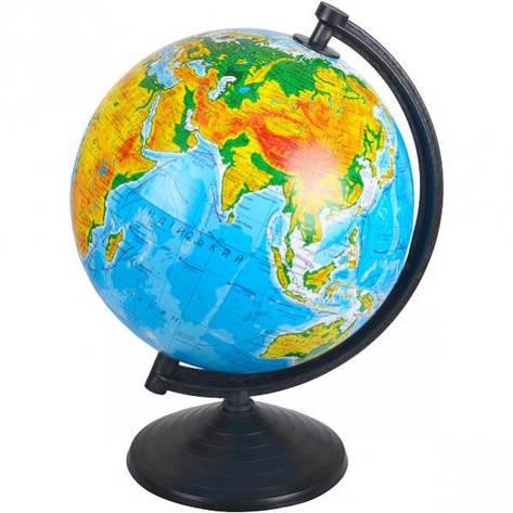 Глобус D260 мм украинский, географический, фото 2