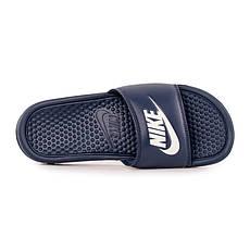3820ff2b Тапочки мужские Шлепанцы Nike Benassi JDI Slide 343880-403(00-04-01 ...