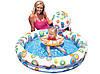 Детский надувной бассейн INTEX 59460 2 кольца, цветной с набором 122-25 см Точная цена, звоните!