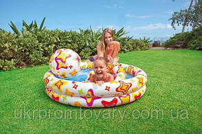 Детский надувной бассейн INTEX 59460 2 кольца, цветной с набором 122-25 см Точная цена, звоните!, фото 3