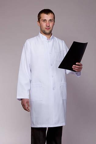 Мужской медицинский халат 1117 ( габардин 36-52 р-р ), фото 2