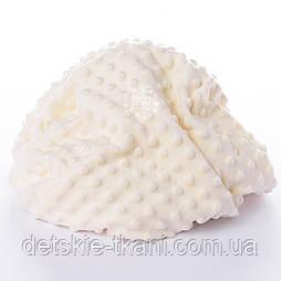 Плюш minky молочного цвета (слоновая кость)