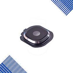 Стекло для камеры Samsung J510F, J710F, J710H, J710M/DS Galaxy J7, с рамкой, цвет черный