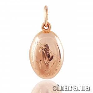 Золотая подвеска Зернышко 1662
