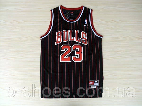 Мужская баскетбольная майка Chicago Bulls Retro (Michael Jordan) Black