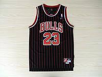 Мужская баскетбольная майка Chicago Bulls Retro (Michael Jordan) Black, фото 1