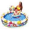 Детский надувной бассейн INTEX 59469 с набором 132-28см Точная цена, звоните!