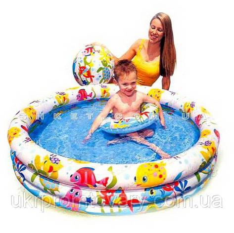 Детский надувной бассейн INTEX 59469 с набором 132-28см Точная цена, звоните!, фото 2