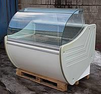Холодильная витрина колбасная «Технохолод Флорида» 1.3 м. (Украина), широкая выкладка 64 см, Б/у , фото 1