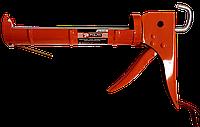 Пистолет для силикона с трещоткой металлический