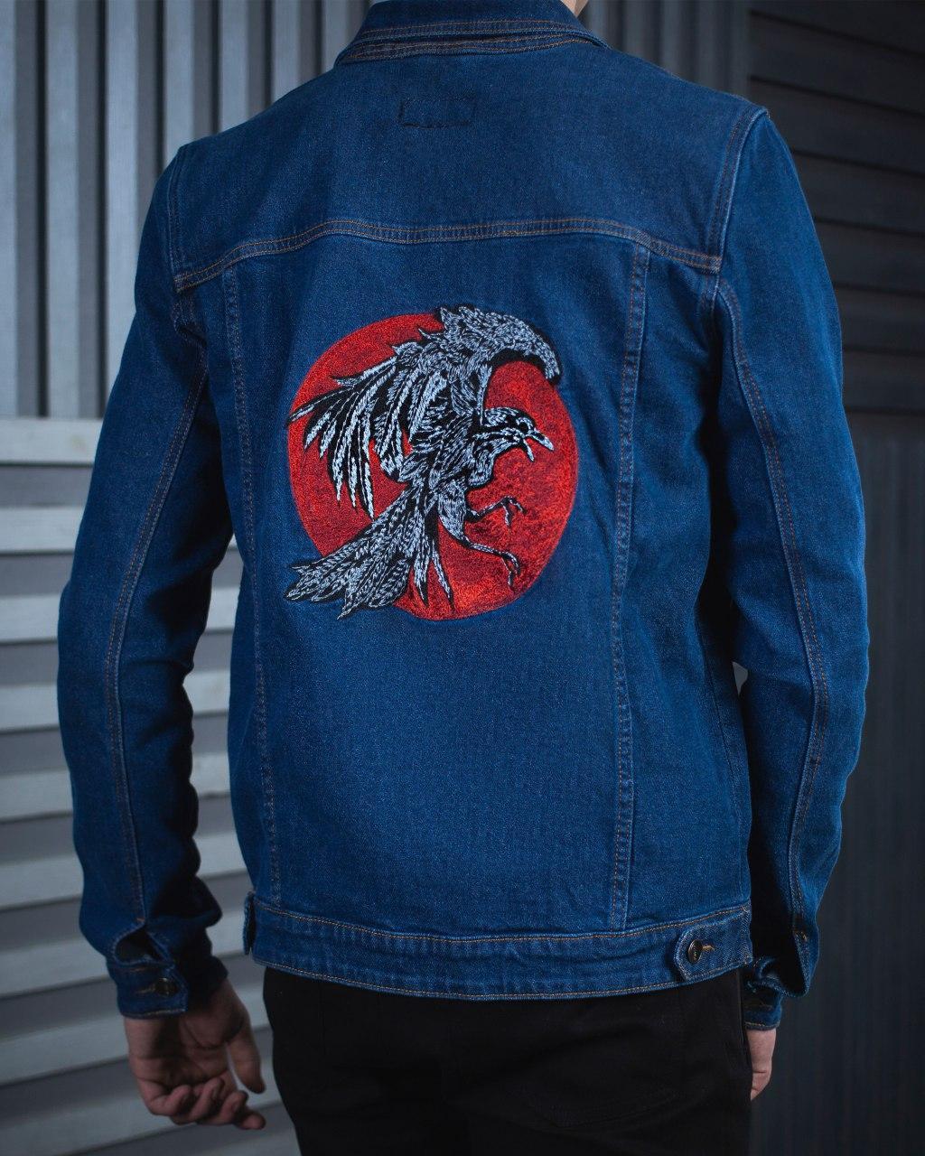 46759d73 Джинсовая куртка мужская BeZet Raven 19 темно-синяя XXL - ShevaShop - одежда  родом из