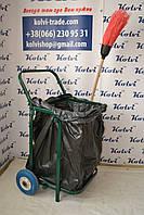 Тележка для вывоза мусора с баком