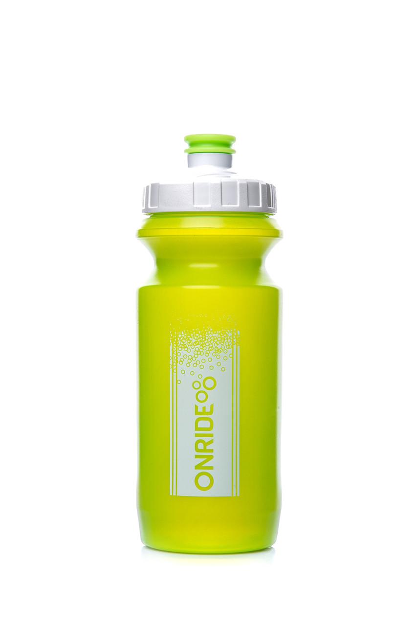 Фляга велосипедна ONRIDE Sonora 600 ml Transp Green