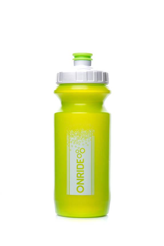 Фляга велосипедна ONRIDE Sonora 600 ml Transp Green, фото 2