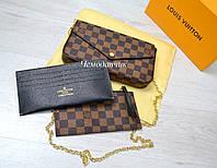 Клатч - Кошелек Луи Виттон Louis Vuitton клетка 4d3794d89edb8