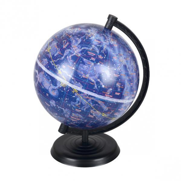 Глобус D220 мм звездное небо