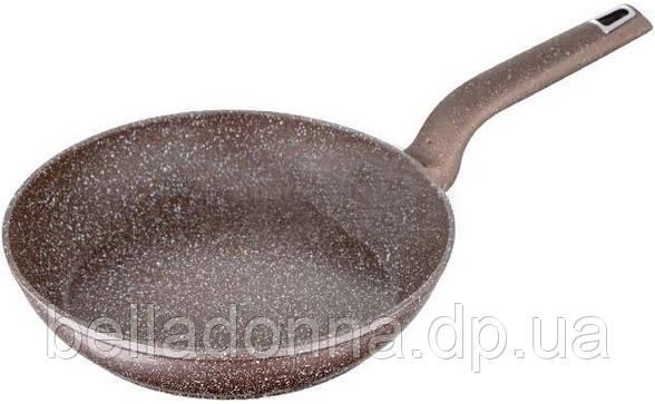Сковорода с мраморным покрытием ø22x4.4 см Wellberg WB-101022