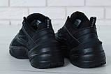 Жіночі кросівки в стилі найк M2K Tekno Black, фото 3
