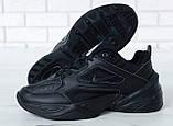 Жіночі кросівки в стилі найк M2K Tekno Black, фото 4