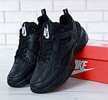 Жіночі кросівки в стилі найк M2K Tekno Black, фото 5