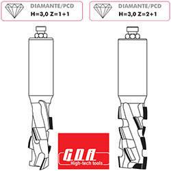 Фрезы алмазные PCD для станков с ЧПУ