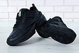 Жіночі кросівки в стилі найк M2K Tekno Black, фото 7