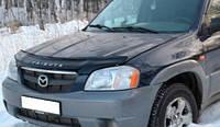 Дефлектор капота (мухобойка) Mazda Tribute 2001-2007, Vip Tuning, MZD13