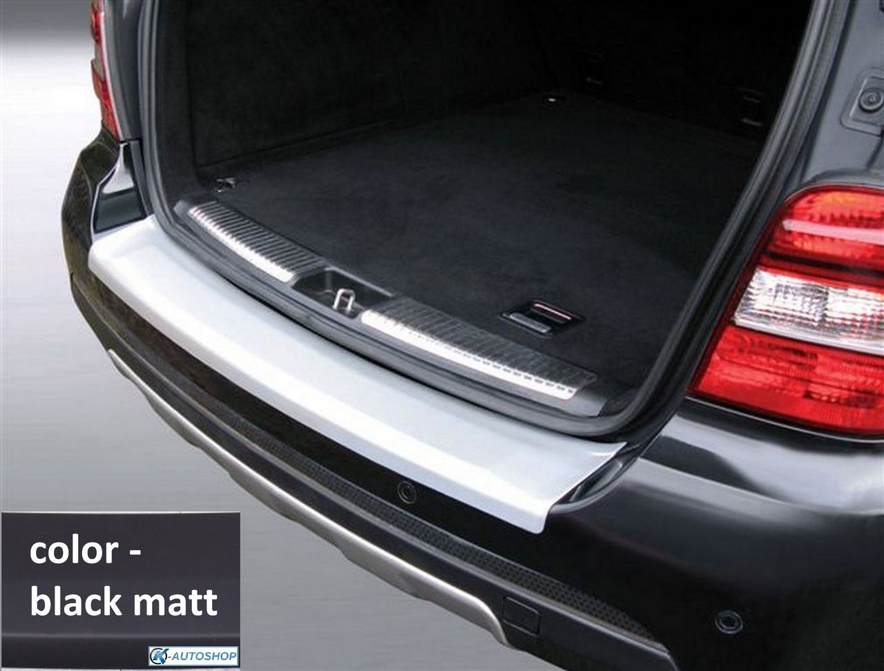rbp397 Mercedes-Benz ML W164 2005-2011 rear bumper protector