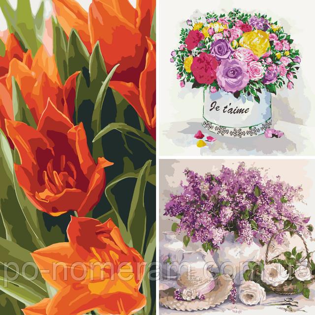 раскраски идейка цветы и натюрморты