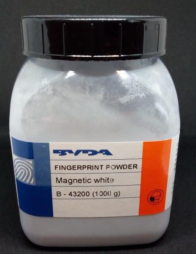 Порошок дактилоскопічний магнітний Білий