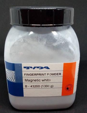 Порошок дактилоскопічний магнітний Білий, фото 2