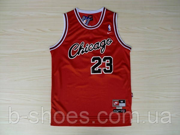 Мужская баскетбольная майка Chicago Bulls Retro (Michael Jordan) Red