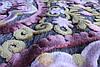 Акриловий рельєфний килим Bonita (Туреччина) великі квіти яскравий, фото 2