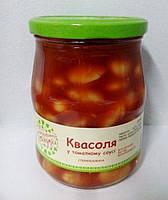 """Фасоль в томатном соусе 530г """" С бабушкиной грядки"""""""