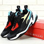 Женские кроссовки в стиле Puma Thunder Spectra Black/Red/Blue